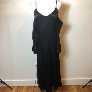 Other Stories Black Long sleeve cocktail dress 4